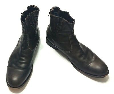 eee4d95e083 PAUL SMITH CHELSEA Mens Leather Ankle Boots EU 42.5 UK 8.5 US 9 Handmade  Italy