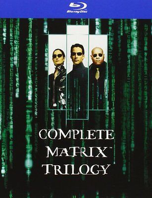 Matrix - Teil 1 - 3 | Trilogy [Blu-ray](NEU/OVP) Keanu Reeves, Laurence Fishburn