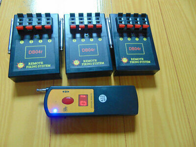 12Cues fireworks firing system-home use copper wire display Digital Remote stage