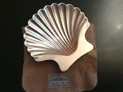 Cartier Sterling Silver Shell Dish
