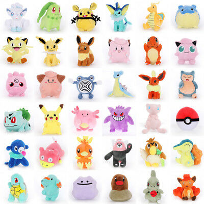 Hot Pokemon Go Pikachu Plush Doll Soft Stuffed Animal Dolls Kids Toy Kids Gift
