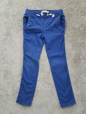 Boden boys blue jogger jeans, skinny, Age 7