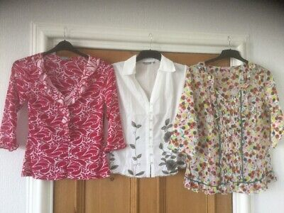Bundle Of Three Per Una Tops Size 12 Good Condition