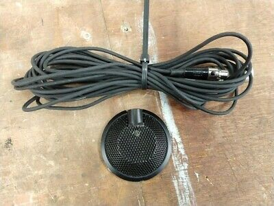 Audio Technica AT841R Omnidirectional Condenser Boundary Microphone w/ XLR Cable