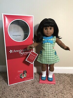 American Girl MELODY ELLISON Doll Meet Box Dress Shoes Socks Panties 18 Inches