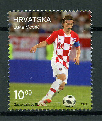 Croatia 2019 MNH Luka Modric 1v Set Football Soccer Sports Stamps
