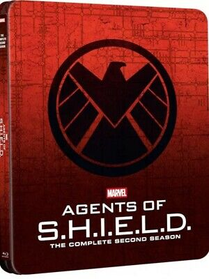 Marvel Agents Of Shield Season 2 Bluray Steelbook Zavvi Uk Exclusive New+Sealed