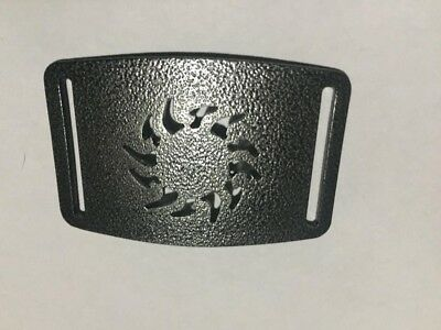 Solar Belt Buckle, Metal, Powder Coated, Use With Nylon Webbing,Grip6 Compatible