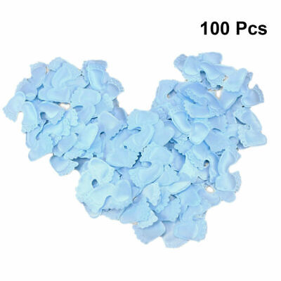 100pcs Decor Funny Creative Foot Print Prop for Birthday Festival Party