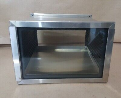 """Stainless Steel Vacuum Desiccator Cabinet  9"""" X 9"""" X 6.5"""""""