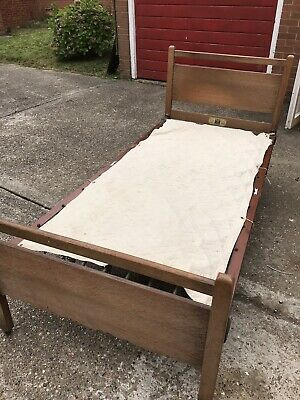 Made by Staples and son and co ltd Single  Bed Frame 1930s 1950s