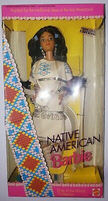 Rare htf Native American Barbie Special Edition 1993 2nd Edition  NRFB