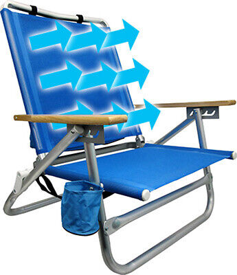 Traveling Breeze® Fan-Cooled Beach Chair