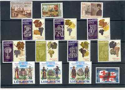 Georgia - Stamps Selection Year 2001 - 2009 MNH**