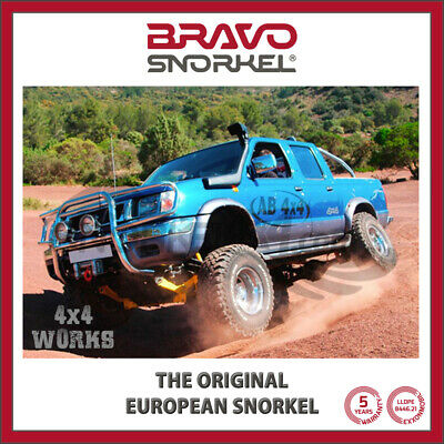Bravo Snorkel Kit for Nissan Navara D22 NP300 1997-05
