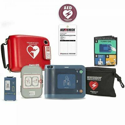 Sealed Box 2018 Philips Heartstart Home HS1 AED M5068A 2021 Pads 8 Year Warranty