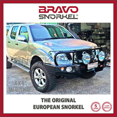 Bravo Snorkel Kit for Nissan Navara D40 & Pathfinder R51 2010-15 Facelift Models