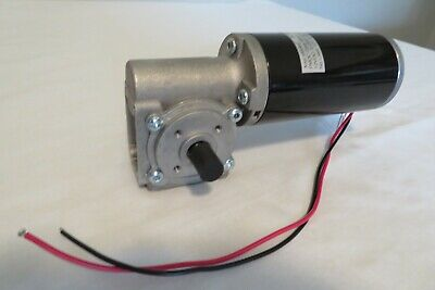 """Powerful 12V DC Worm Gear Motor 2.5"""" 1/14HP@ 82RPM Reversible/Variable Speed-NEW"""