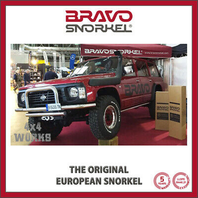 Bravo Snorkel Kit for Nissan Patrol Y60 1988-97