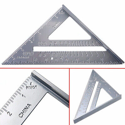 Ruler Speed Protractor Miter Saw Guide Triangle Aluminum Alloy Framing Useful