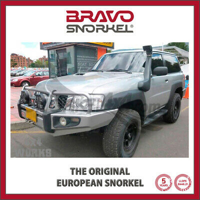 Bravo Snorkel Kit for Nissan Patrol Y61 2005-on