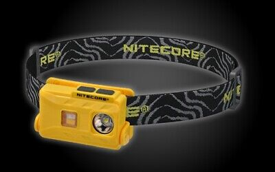 NITECORE NU25 360 Lumens CRI LED Rechargeable Headlamp (YELLOW)