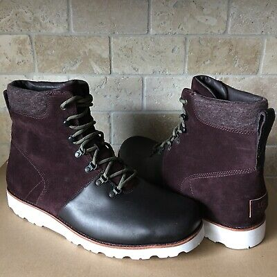 3a0fb313a2b UGG MEN'S HALFDAN Boots Waterproof Charcoal Grey Size 10 - $99.99 ...