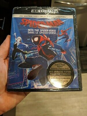 Spider-Man Into the Spider-Verse (Blu-ray + 4K UHD) BRAND NEW!!
