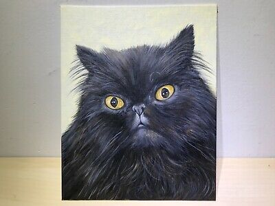 Princess custom Pet Portrait 8x10 acrylic painting Your cat/dog on canvas board