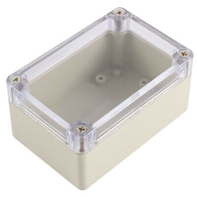 Clear Cover Plastic Electronic Project Junction Box 100 x 68 x 50mm E5R5