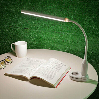 3907 LED Clip Booklight Adjustable Portable Eye-Care Sensitive Light Torch
