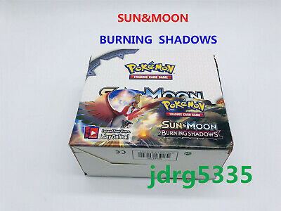 "324pcs (36 pack) Pokemon Cards Sun & Moon ""BURNING  SHADOWS""Booster Box"
