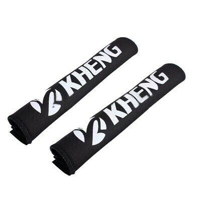 2X(KHENG 2 x Bike chains Anti-theft protection Frame protection Chainstay p O1U8
