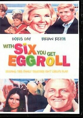 With Six You Get Eggroll Doris Day & Brian Keith  All Region Dvd