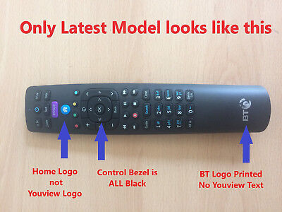 Youview Remote for Humax BT T4000 & T2100 RC3124705/04B LATEST MODEL