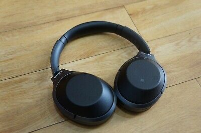 Sony WH-1000XM2 Wireless Bluetooth Noise Cancelling Headphones Black FAULTY