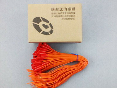 11.81in 100pcs 30cm copper wire fireworks firing system-connect wire-orange wire