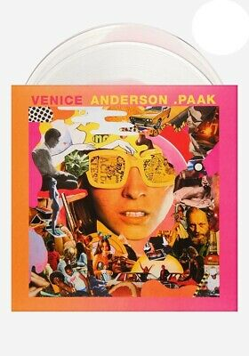 Anderson Paak - Venice // 2xLP Vinyl ltd to 500 on Clear & Pink