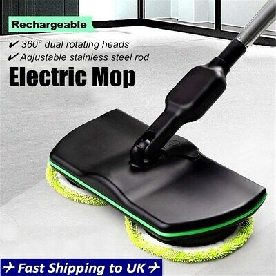 Wireless Rotary Electric Rechargeable Floor Mops Home Cleaner Scrubber Polisher