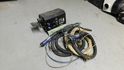 Robotic mig welder lead torches and wire feed VR153-K unit 2 x torches