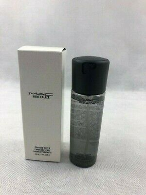Mac Mineralize Charged Water Charcoal Spray 100ml New,  In Box
