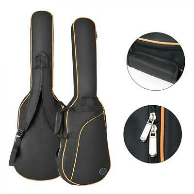 Electric Guitar Gig Bag Carry Case Gigbag Double Strap Padded Soft Backpack 600D