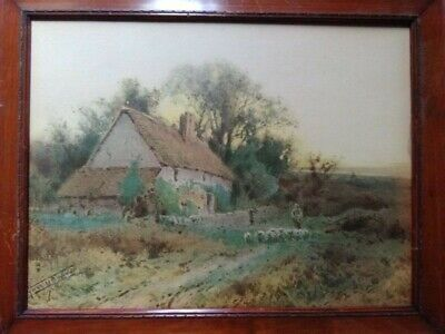 Vintage painting by Sylvester Stannard, British (1870-1951)