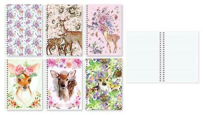 1x A5 Ruled Notebook Note Book Soft Cover Stationery Dairy Journal Office School