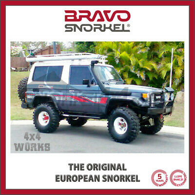 Bravo Snorkel Kit Land Cruiser 70 Series 1985-07