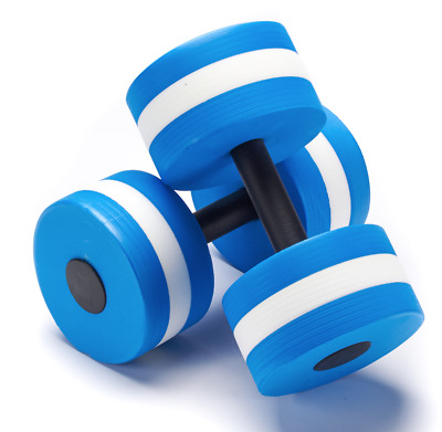 3200c7c436b Swimming Pool Dumbbells Exercise Equipment Weights Water Aquatic Aerobic  Workout
