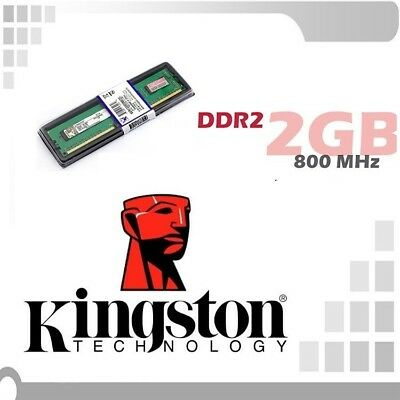 Modulo Memoria RAM 2GB DDR2 800 Mhz 240PIN PC ¡ NUEVA! INTEL AMD KINGSTON ESPAÑA