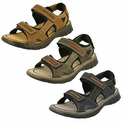 Rieker 26061 MENS OPEN TOE WALKING SANDALS
