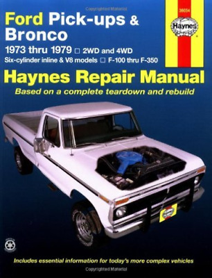 Ford Pickups & Bronco 73-79 (Also Book New
