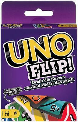 UNO Flip Card Game Fun Family Card Matching Game NEW FREE SHIPPING